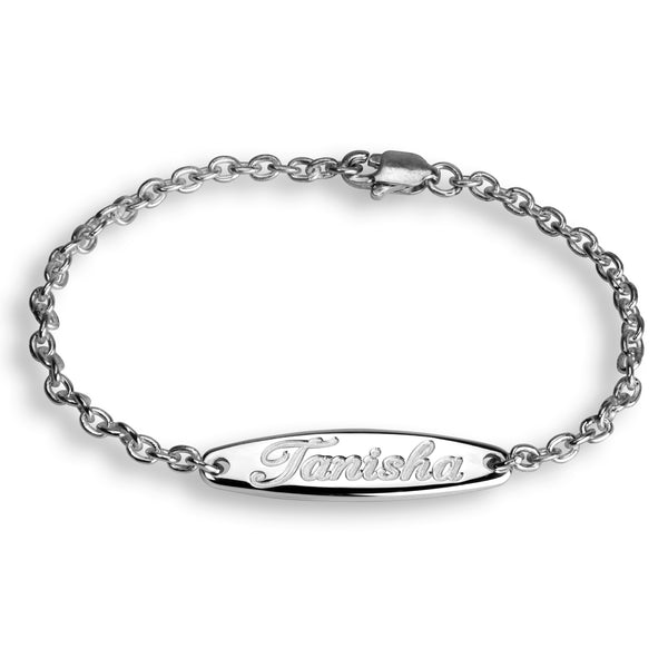 Charmour Kids Engravable Bar Bracelet CM701