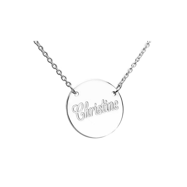 Charmour 18mm Disc Necklace CM823