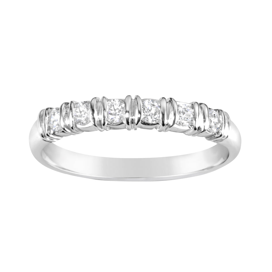 White Gold & Diamond Wedder E0174
