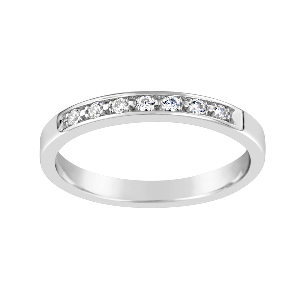 White Gold & Diamond Ring E0885WG