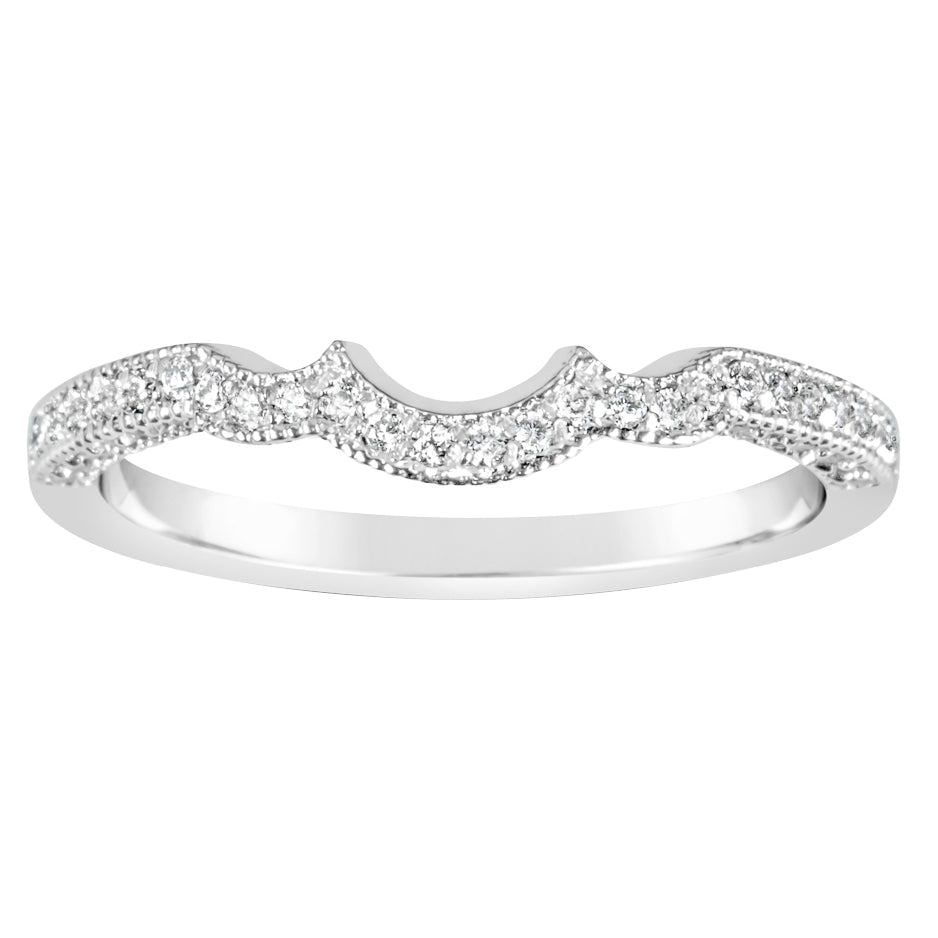 White Gold & Diamond Wedder E1073WG
