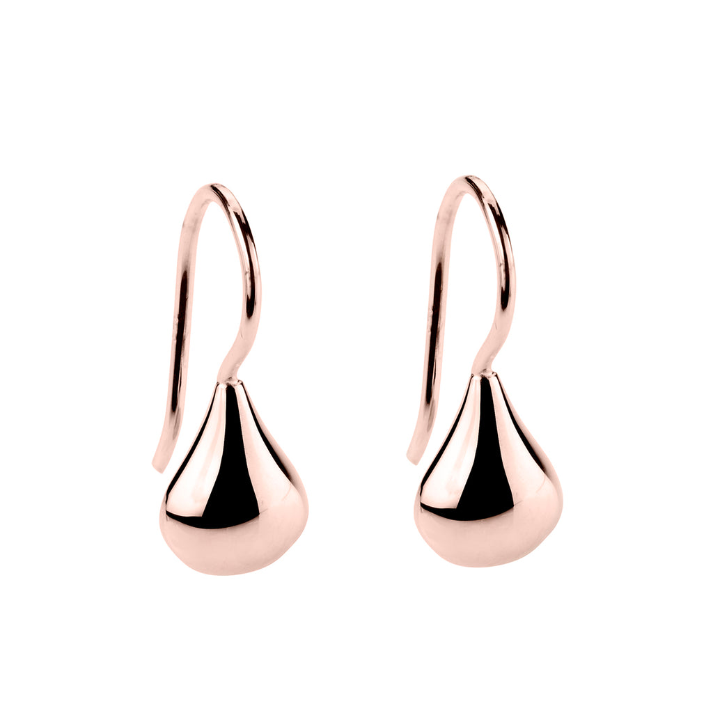 Najo rose finish earrings