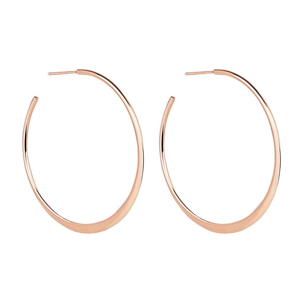 Najo Essential Hoop Earrings (Rose) E6034