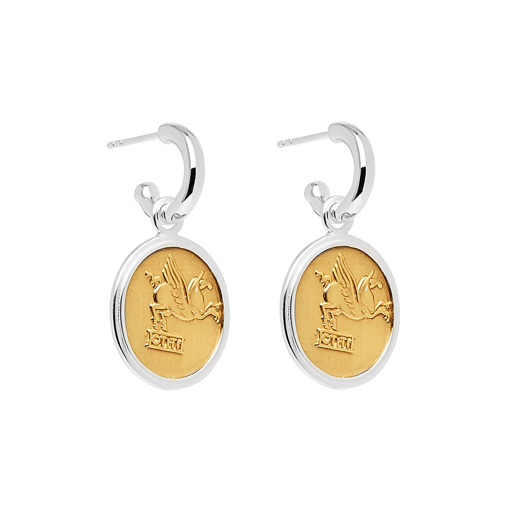 Najo Bacchus / Pegasus Earrings E6284