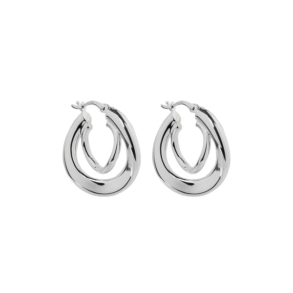 Najo Baby Strudel Hoop Earrings E6439