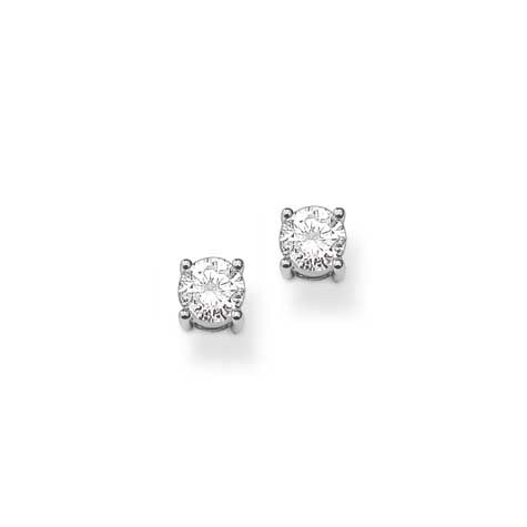 Thomas Sabo silver stud earrings with CZ