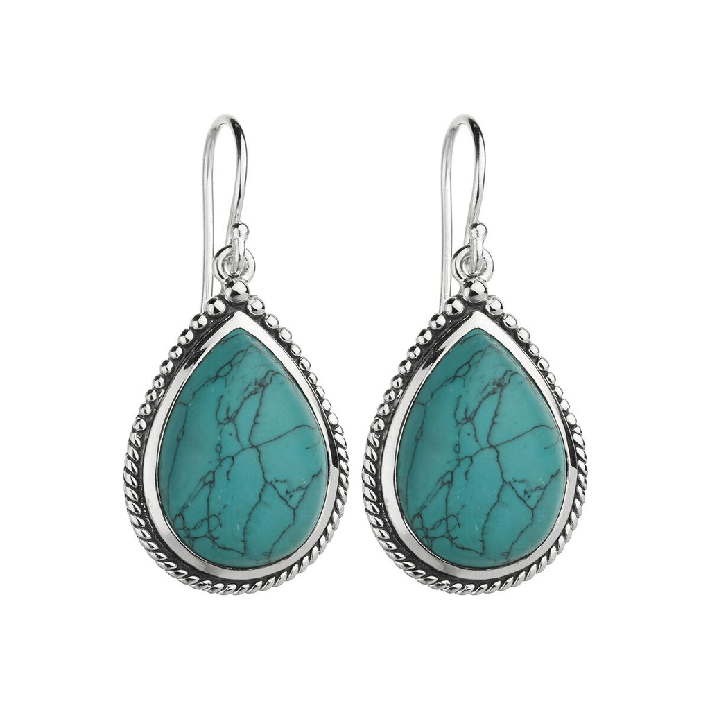 Najo Marine Garden Earrings (Turquoise) E6144