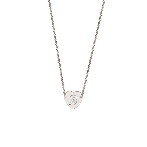 Me-Mi Personalised Heart Necklace