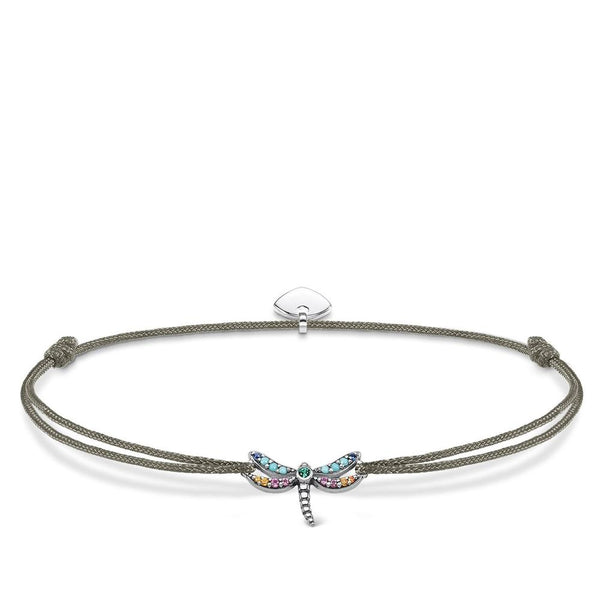 Adjustable dragonfly bracelet