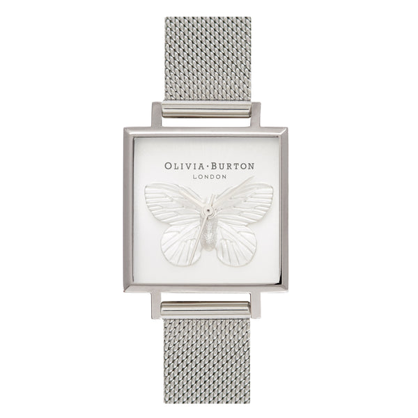 Butterfly dial watch