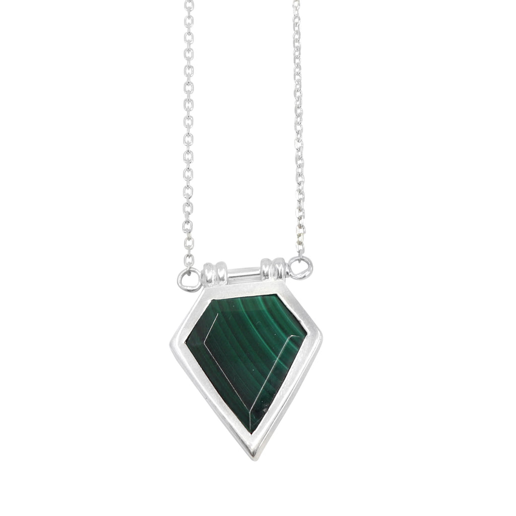 Toni May Montana Necklace (Malachite)