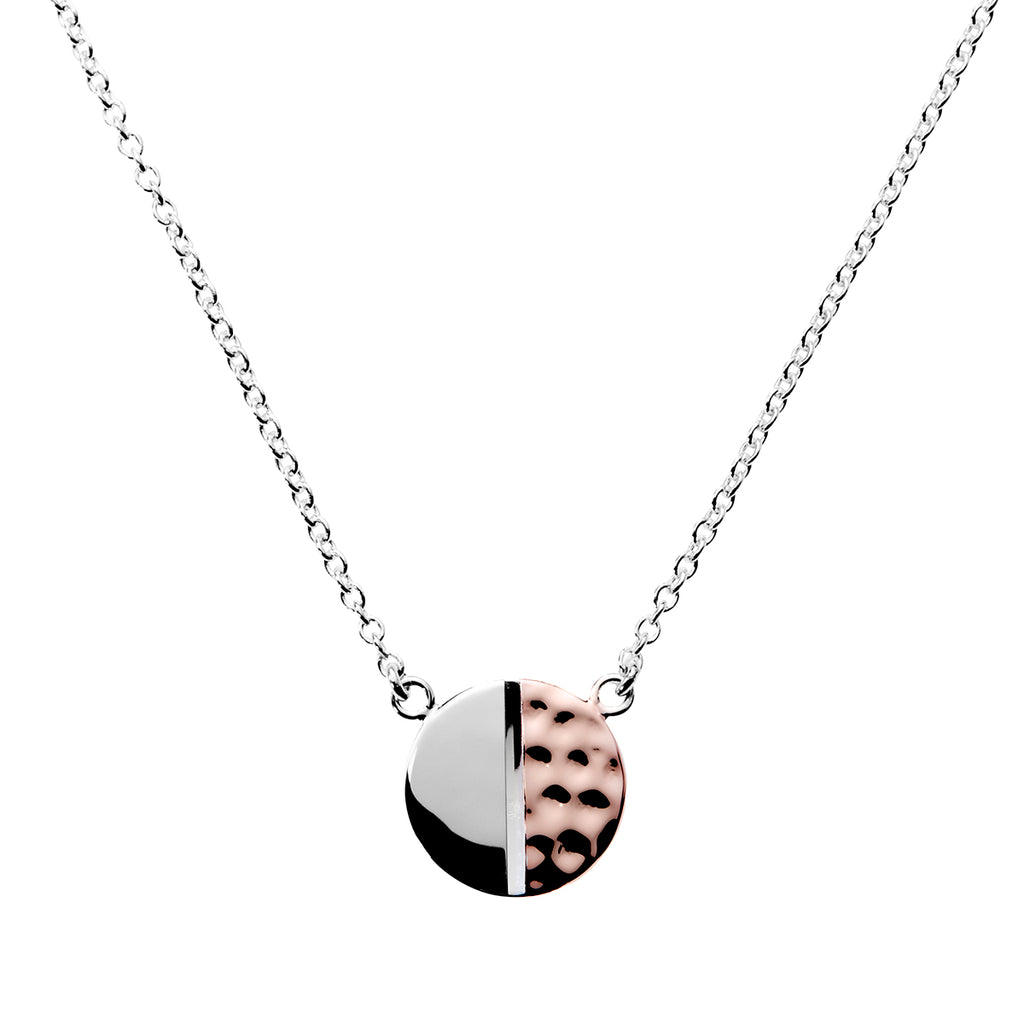Najo two-tone necklace