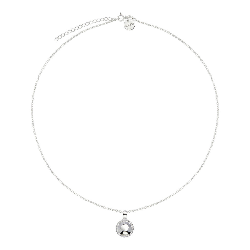 Najo Beaded Silver Glow Necklace N5920