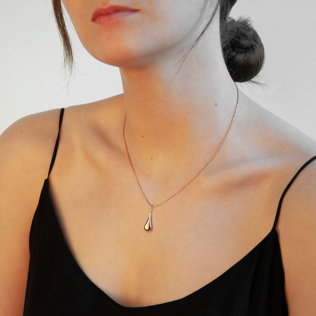 Najo My Silent Tears Necklace (Rose) N6219
