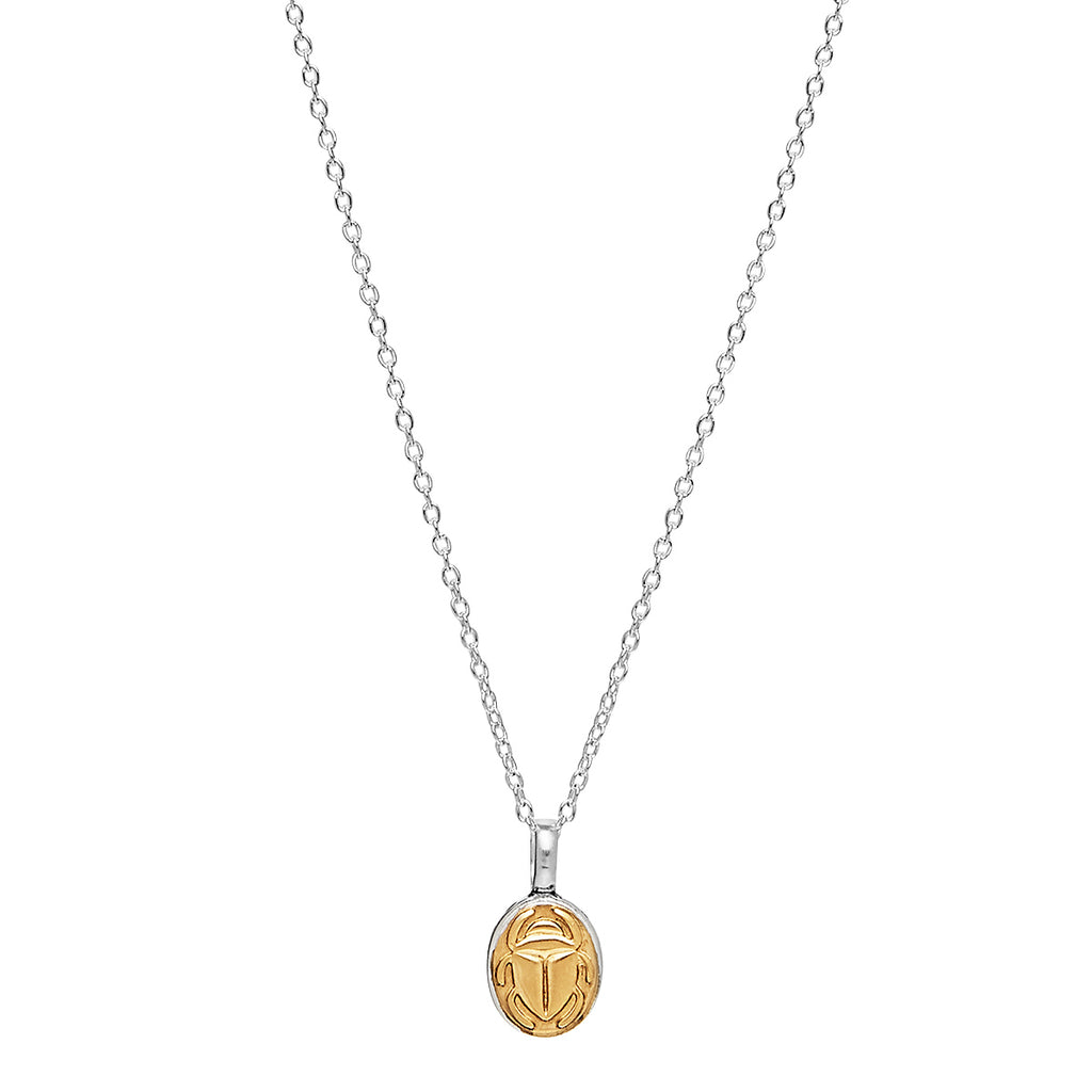 Najo Golden Scarab Necklace N6282