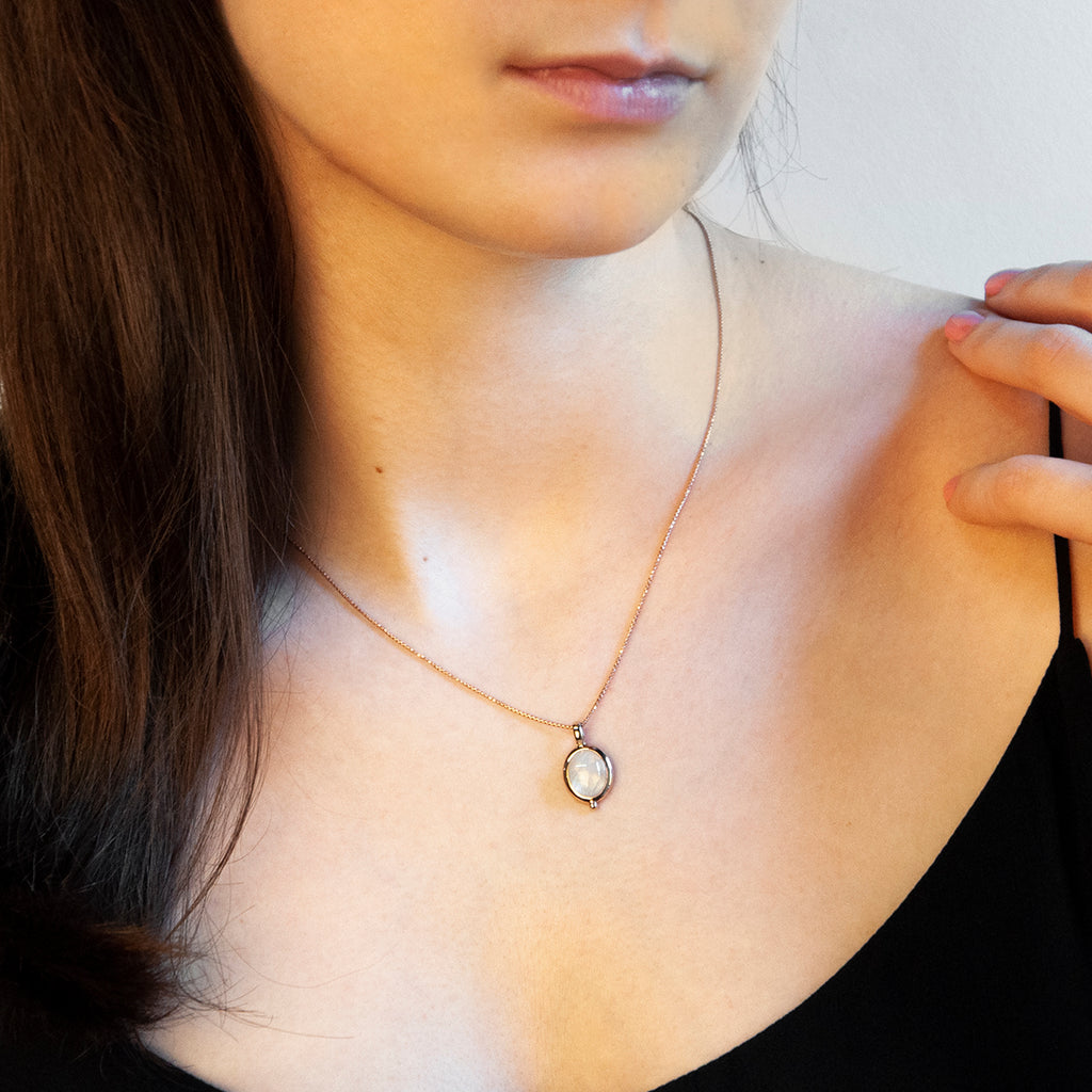 Najo Justinia Necklace (Moonstone) N6317