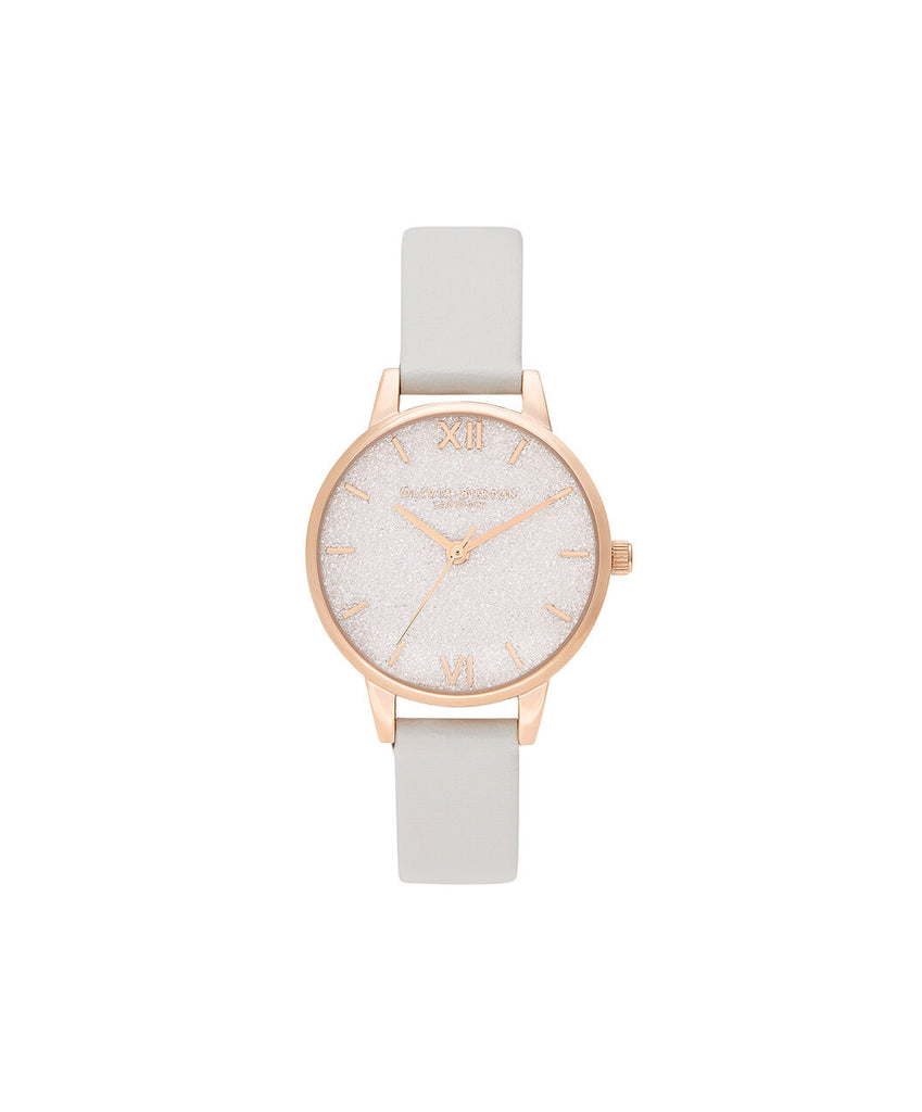 Glitter dial vegan friendly watch
