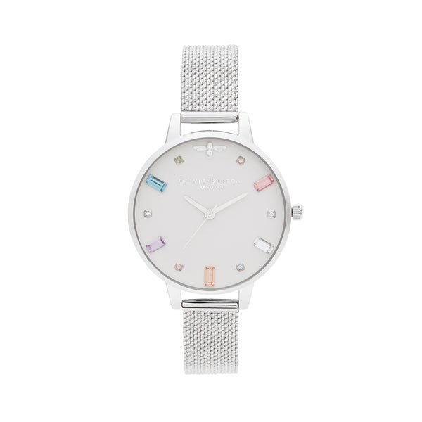 Olivia Burton Rainbow Bee Watch OB16RB10