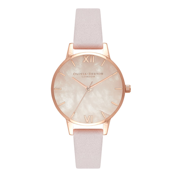 Quartz dial watch