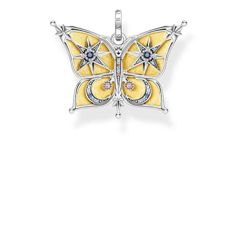 Thomas Sabo Magic Stars Butterfly Pendant TPE897Y