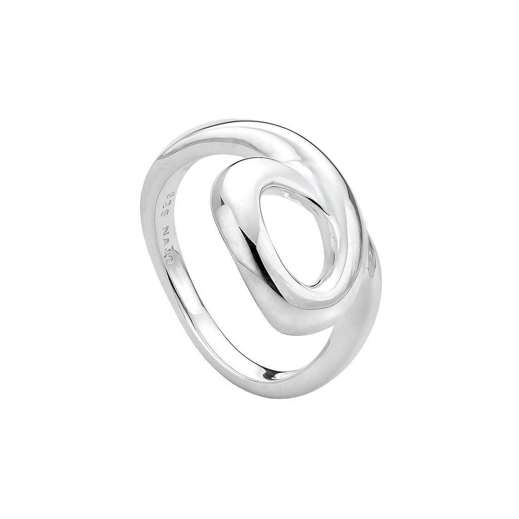 Najo silver loop ring
