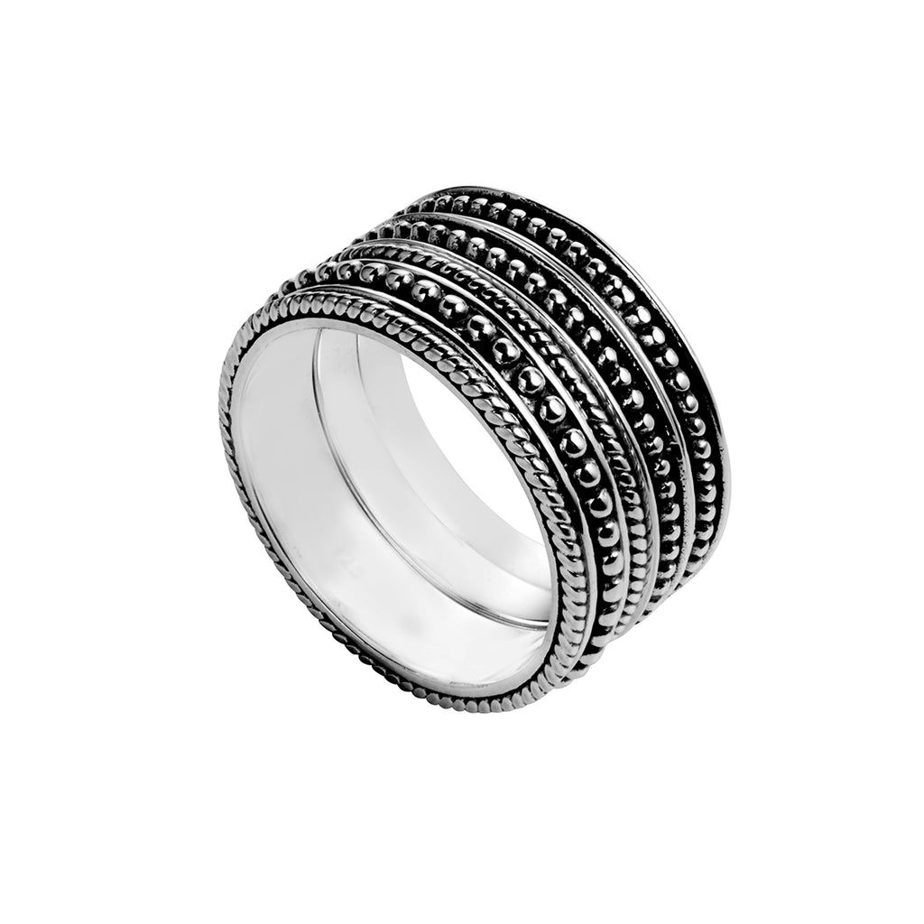 Najo silver ring set