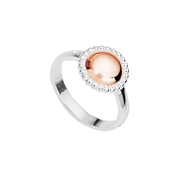 Najo Beaded Rosy Glow Ring R5922