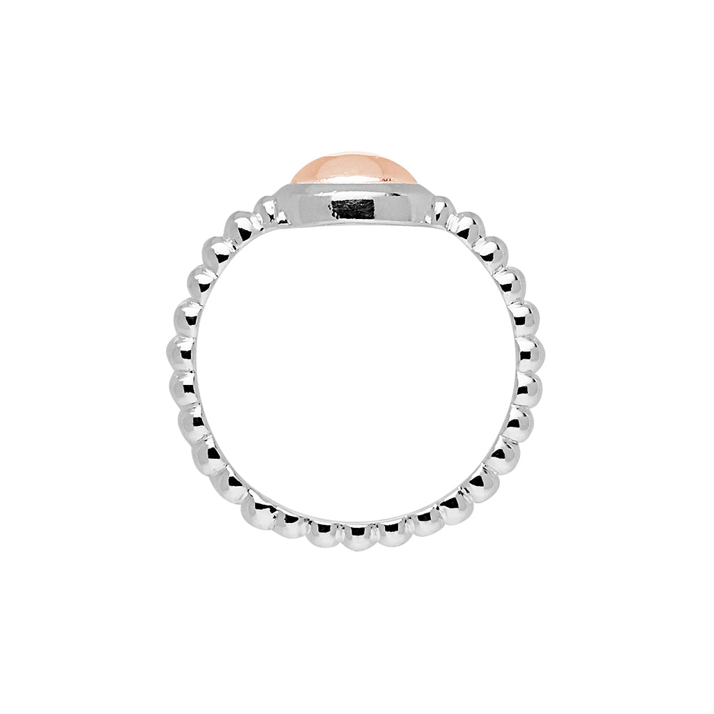 Najo Beaded Band Rosy Glow Ring R5925