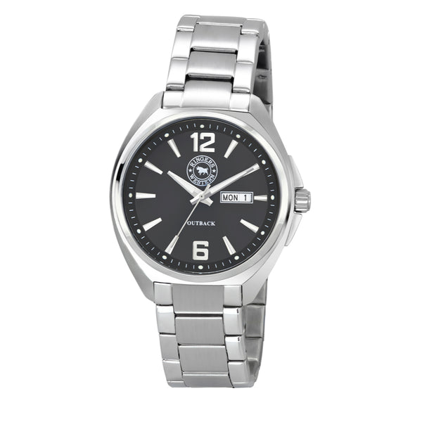 Ringers Western Outback Steel Watch (Black Dial)