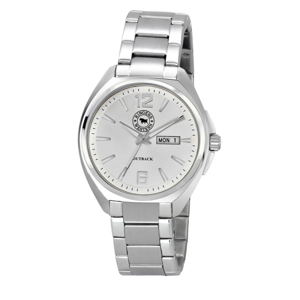 Ringers Western Outback Steel Watch (White Dial)