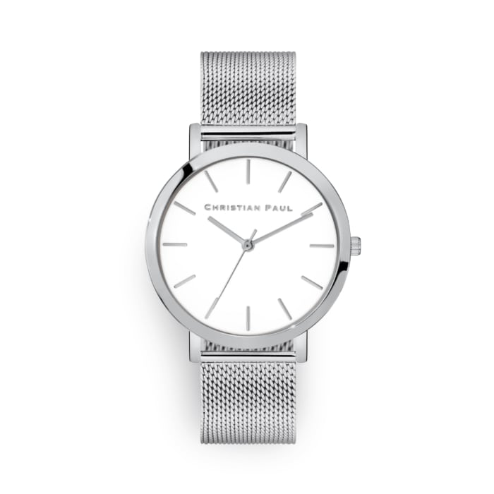 Steel mesh watch