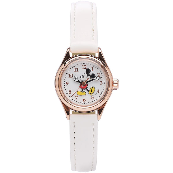 White leather Disney watch