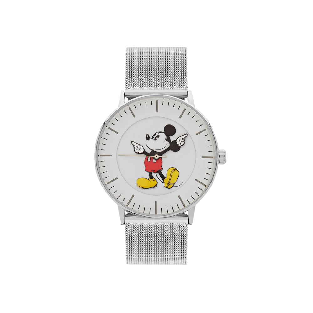 Steel mesh Disney watch