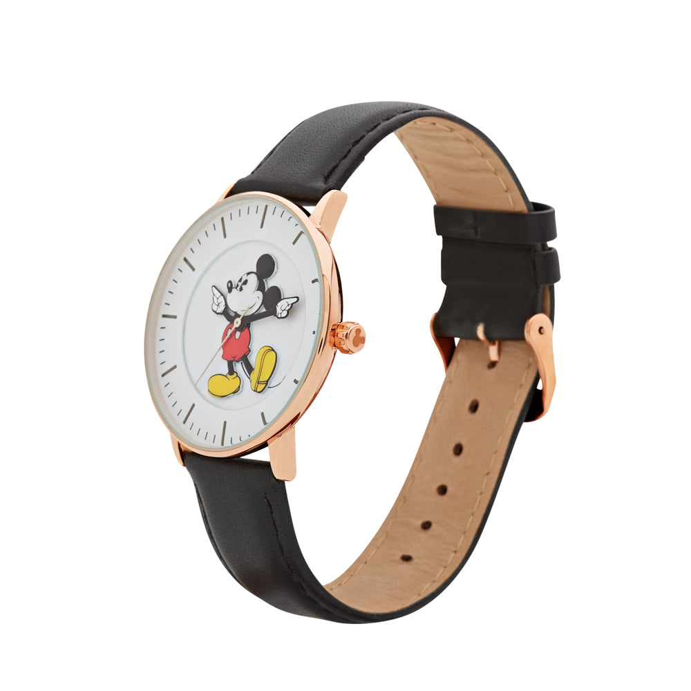 40mm Formal Mickey Watch (Rose & Black) TA77351