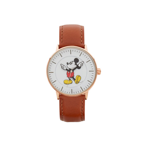 36mm Formal Mickey Watch (Rose & Brown) TA78454