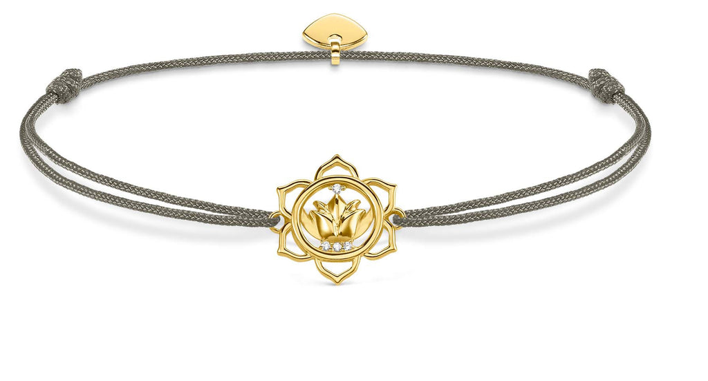 Adjustable lotus bracelet