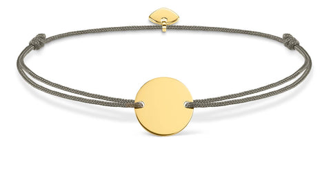 Little Secrets Disc Bracelet (Gold) LS019