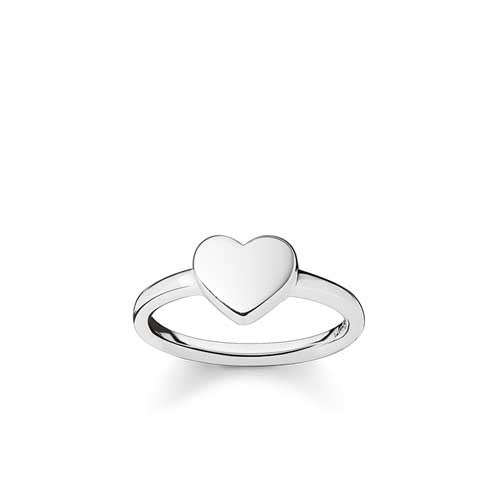 Thomas Sabo plain silver heart ring