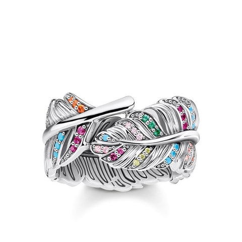Thomas Sabo Magic Garden Feather Ring TR2284