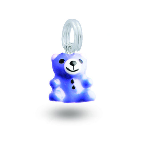 Blue Teddy Charm BLB-BEAR