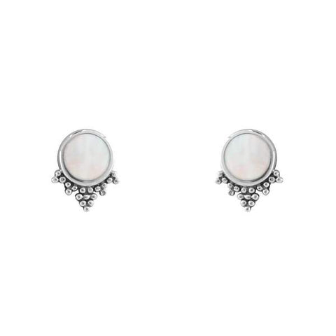Midsummer Star Mystic Mirror Studs (Pearl) S494MP