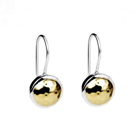Golden Glow (Beaten) Earrings E5902