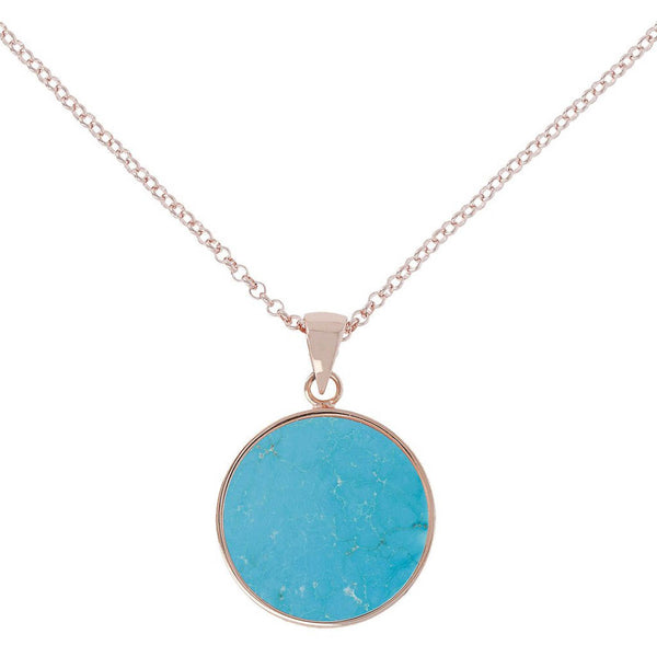 Bronzallure Medium Alba Necklace (Magnesite) WSBZ00702.MG