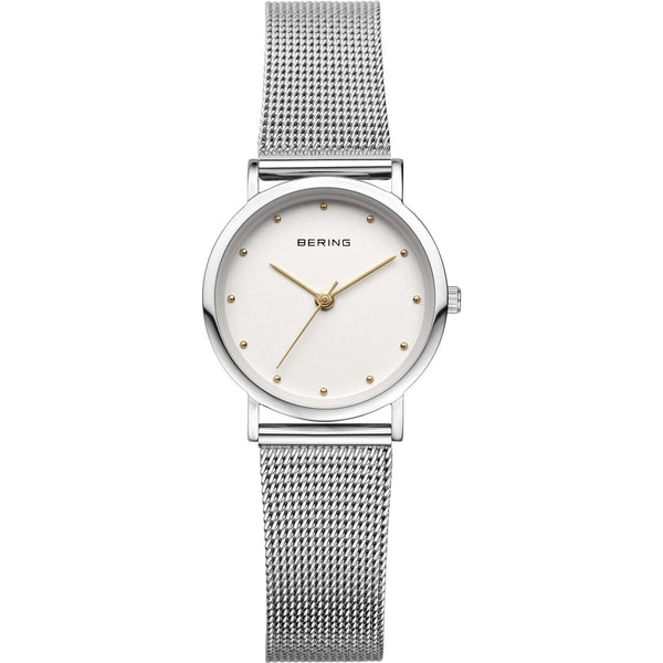 Petite mesh band watch