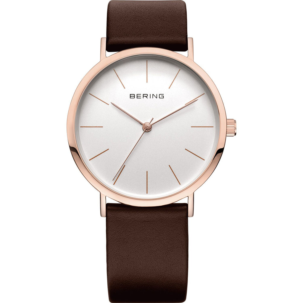 Mesh band minimalist watch