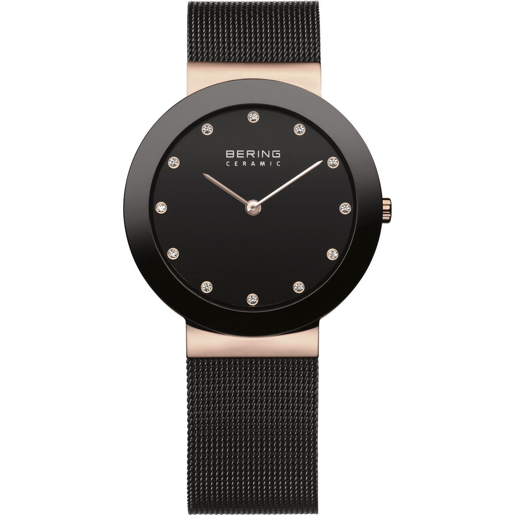 Ceramic bezel watch