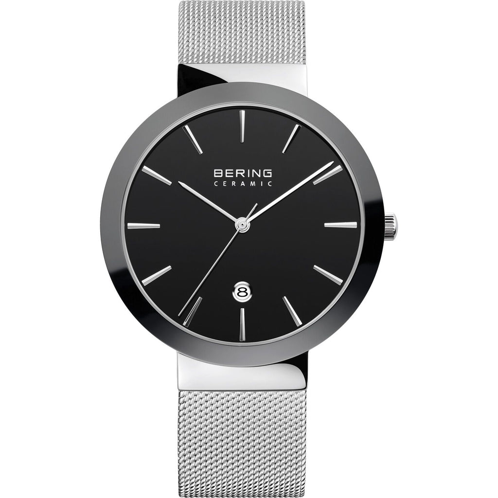 Mesh band watch