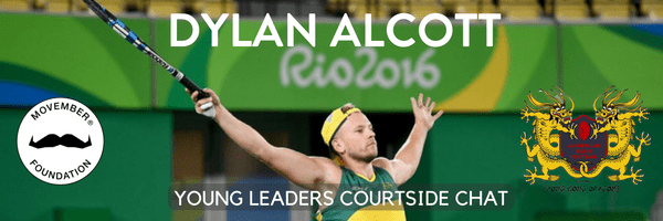 Dylan Alcott presented by Wine Brothers + The Movember Foundation