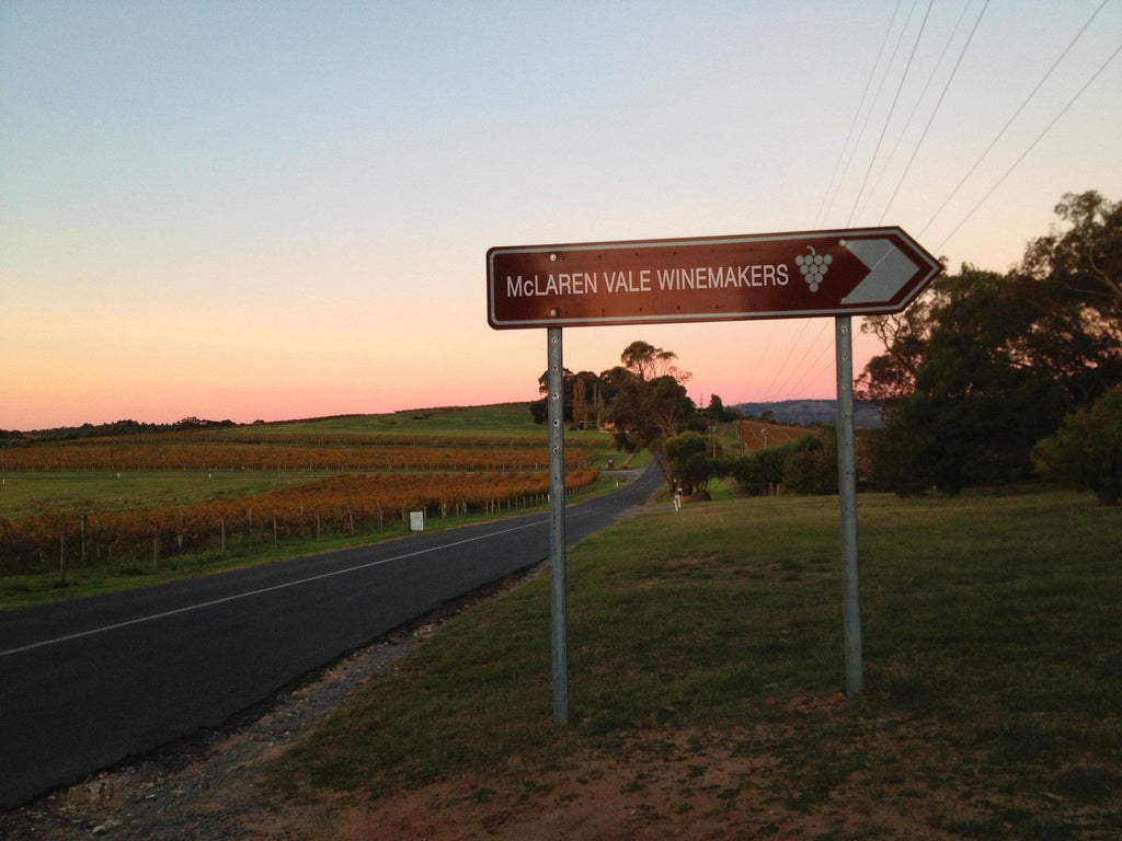 The Barossa Valley Vs McLaren Vale....