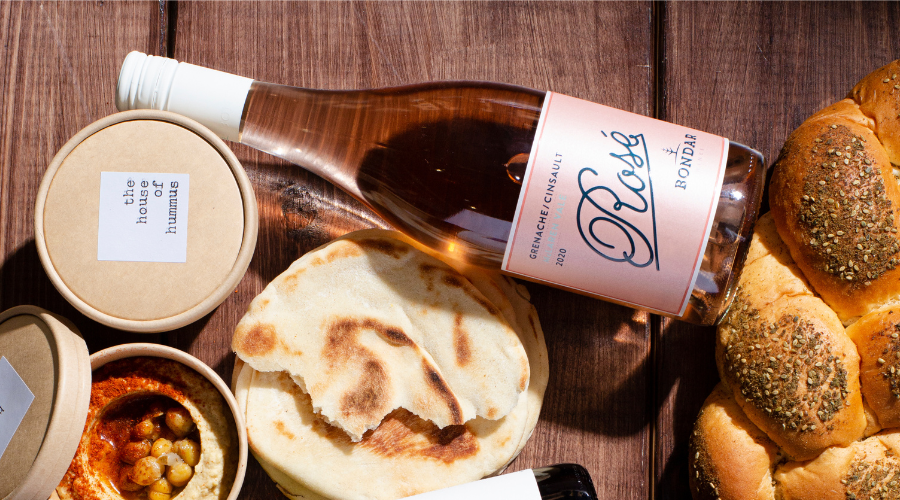 How to pair Hummus and Wine. Baba Ghanoush & Rosé| Wine Brothers HK